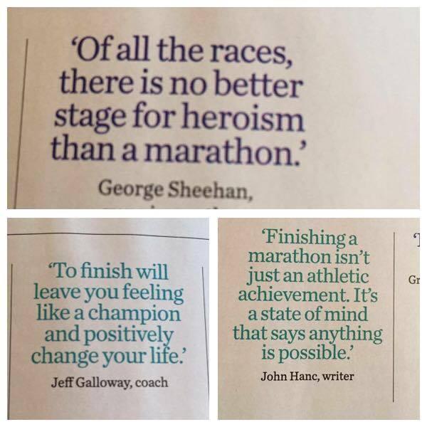 The final push – it's Marathon month
