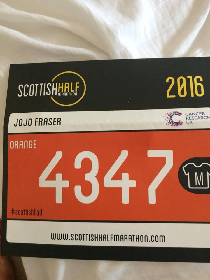 Scottish Half Marathon – my checklist for the final countdown
