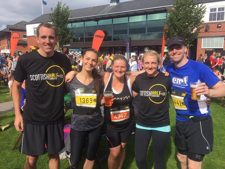 Lessons from a top day – Scottish Half Marathon 2016