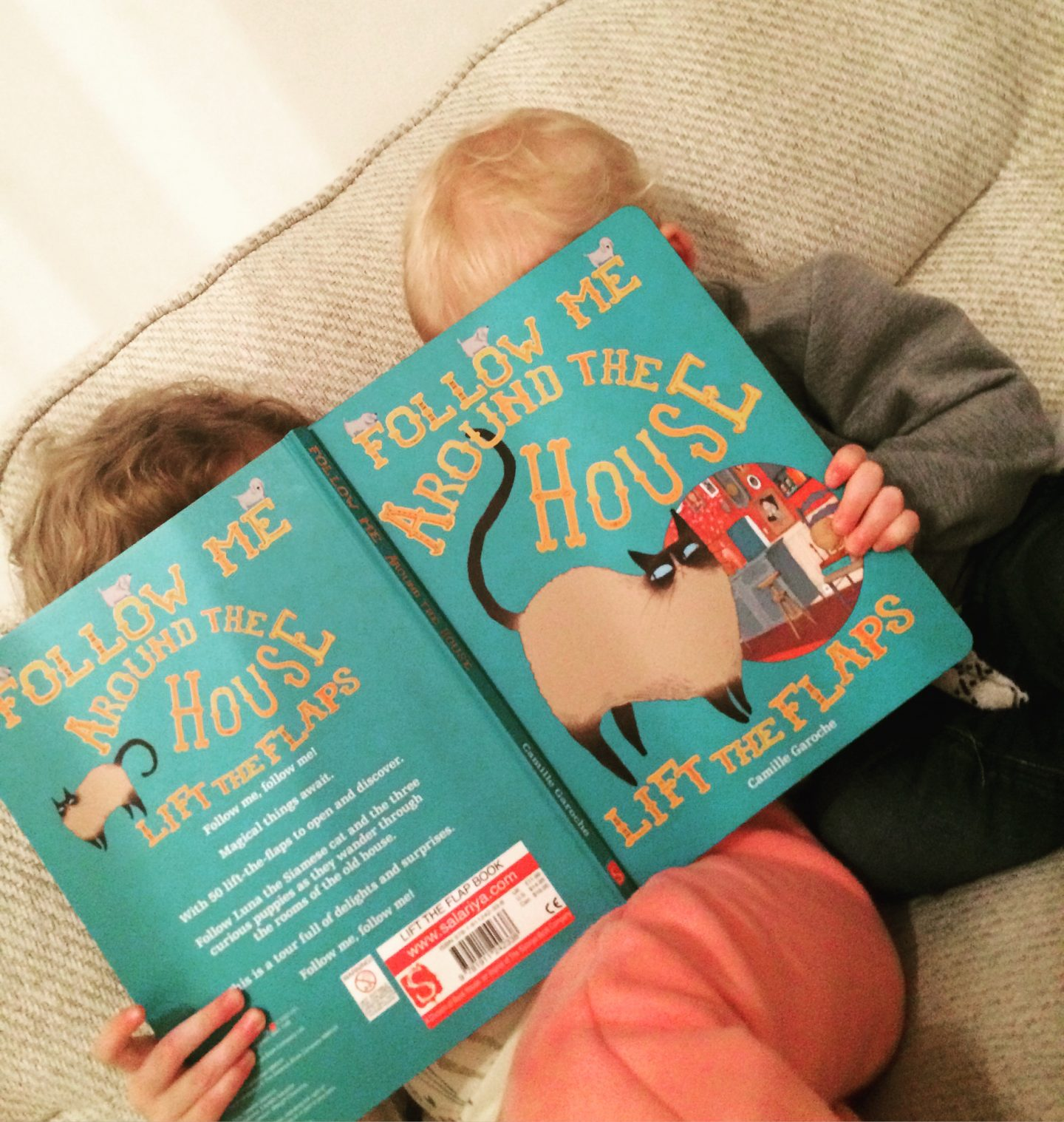 Reading with kids – escapism and joy