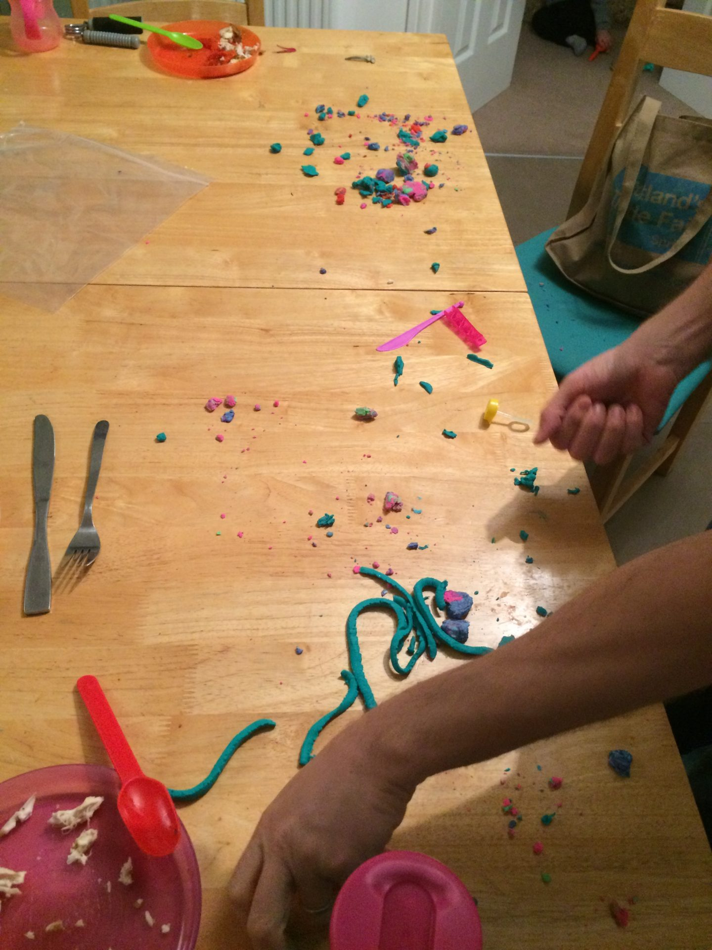 In Defence of being messy
