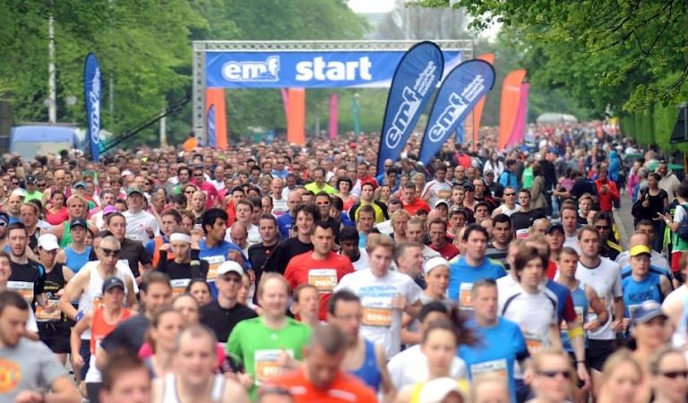 Edinburgh Marathon Festival countdown