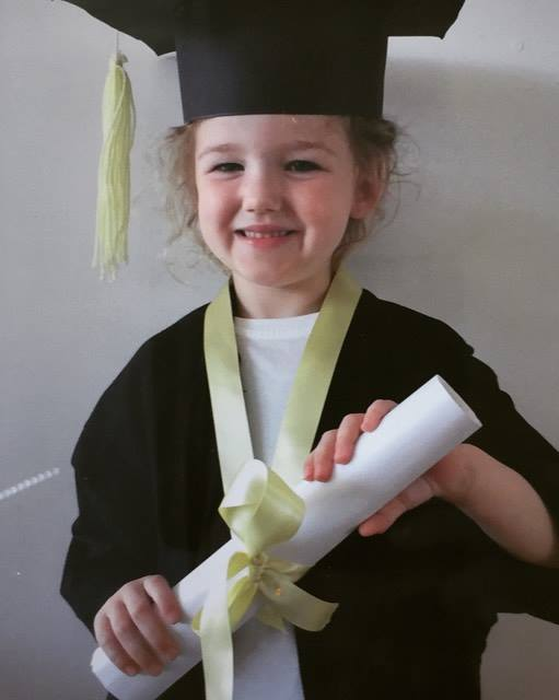 Today you graduated from nursery