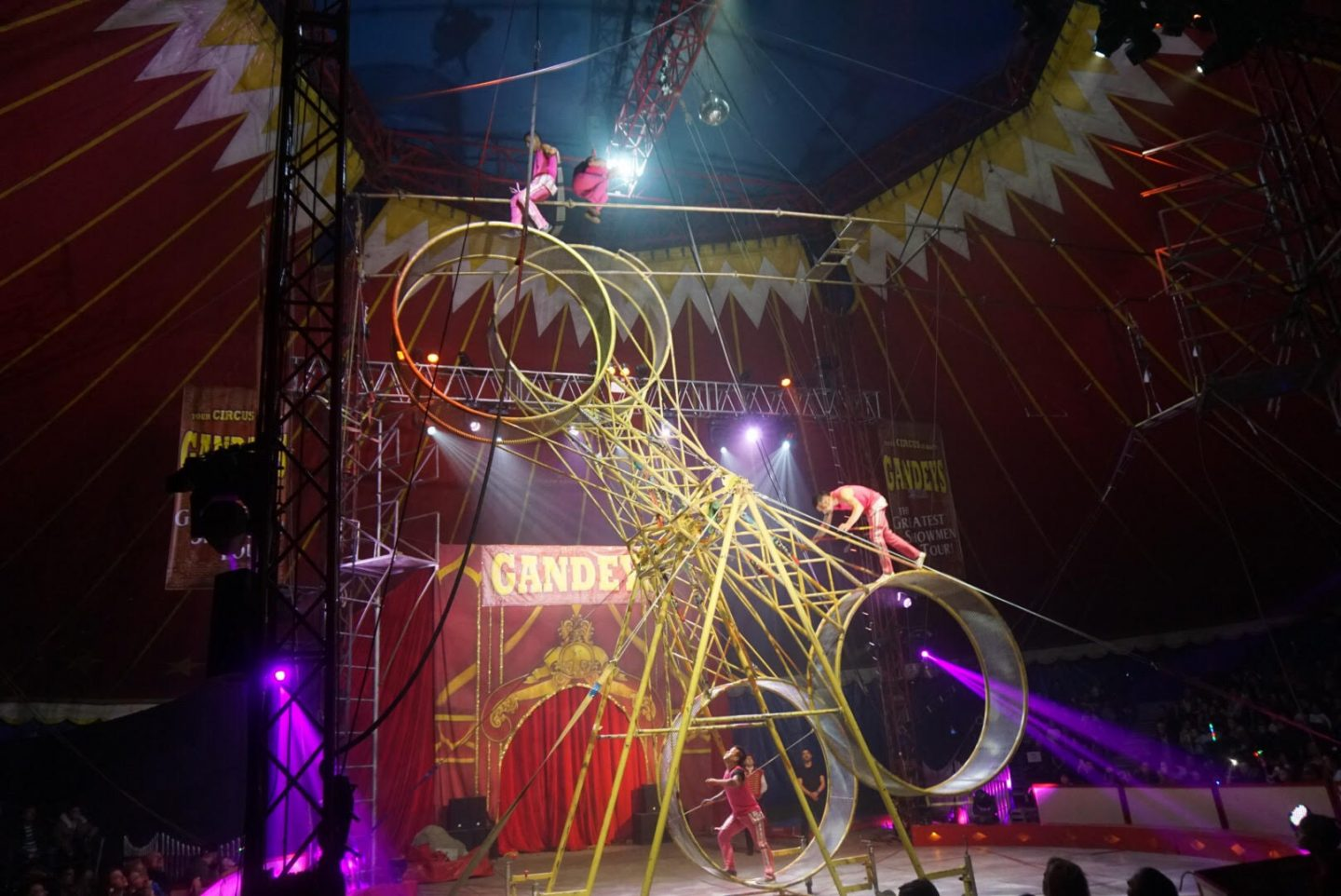 The greatest showman - gandeys circus UK