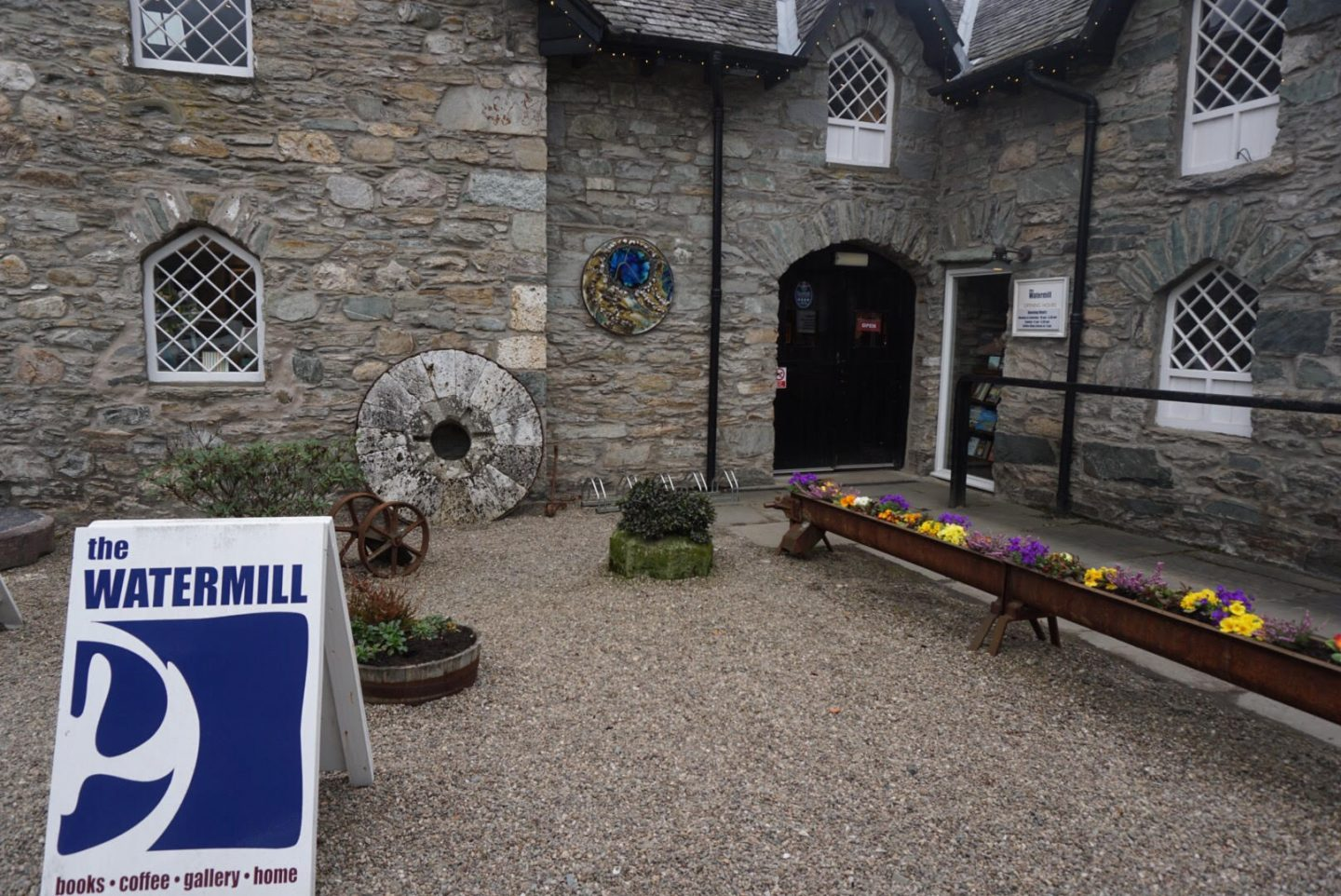 The watermill book shop, Aberfeldy - Scottish author