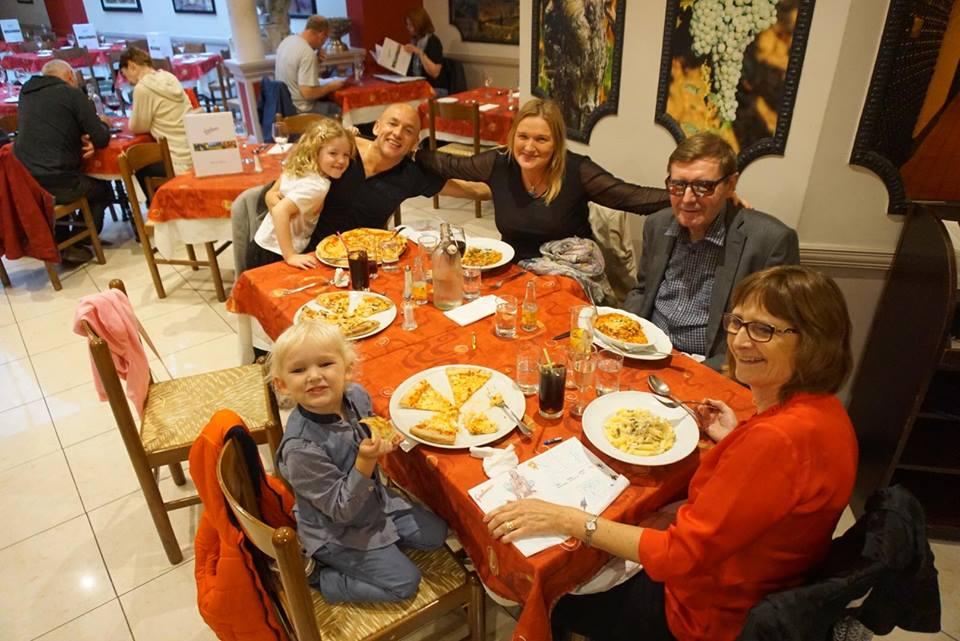 Mummy jojo checks out giuliano's edinburgh on national food day 2018