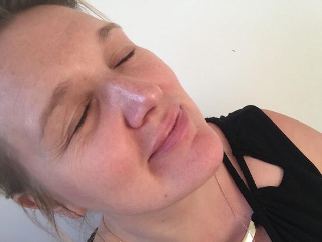 Lift facial Edinburgh blogger