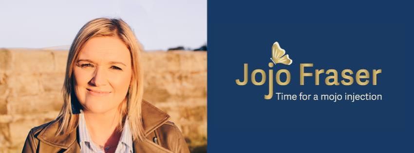 Jojo Fraser - motivational blogger and writer