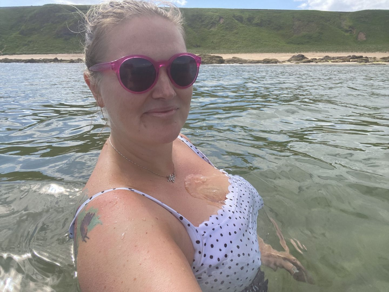 Canty Bay, North Berwick wild swimming