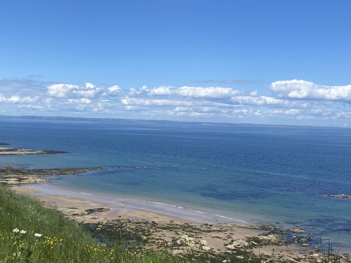 Avoiding Riptides at Canty Bay, North Berwick and checking out Drift