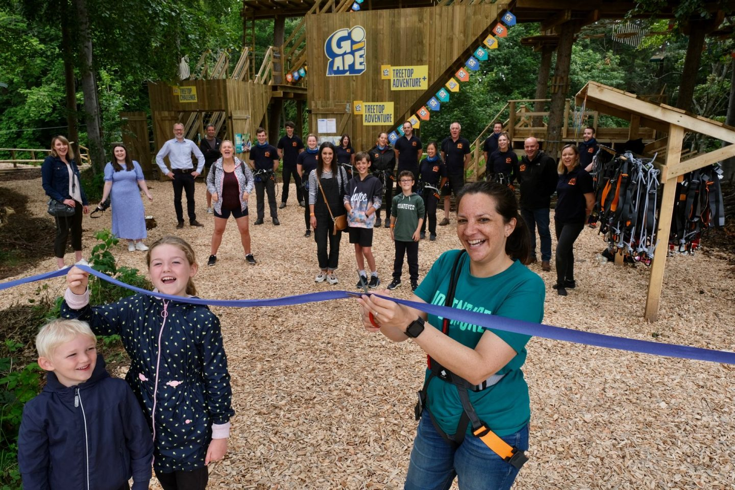 The first Go Ape for Kids in Scotland