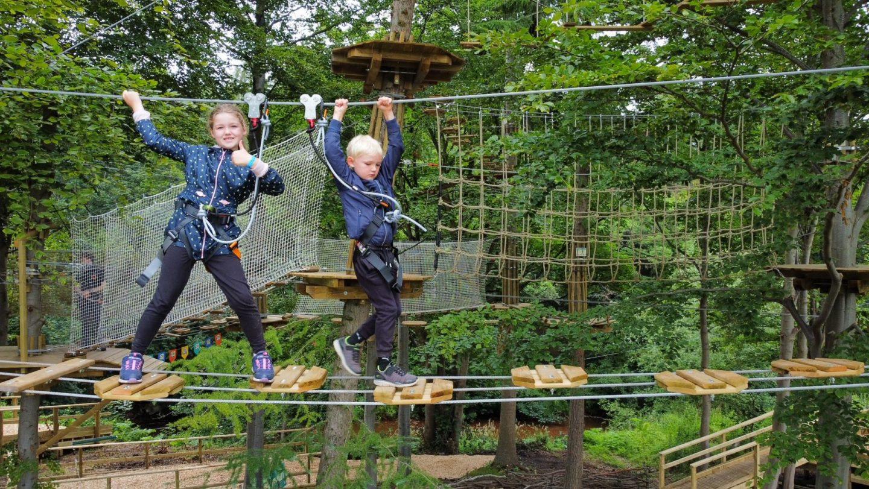 Go Ape for kids Dalkeith Country Park